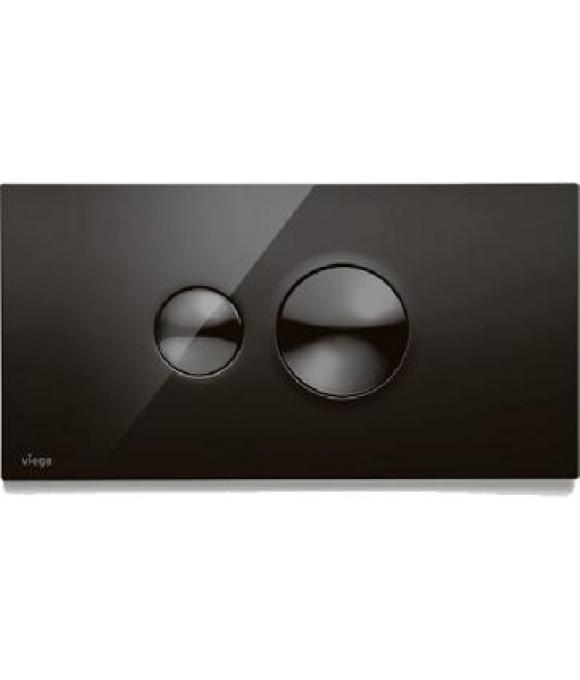 Инсталляционная кнопка  пластик насыщенный черный Viega  [Visign for Style 10 / 8315.1]