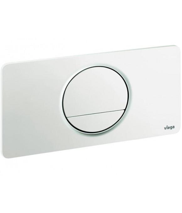 Инсталляционная кнопка альпийский белый круглая Viega  [Visign for Style 13 / 8333.1]