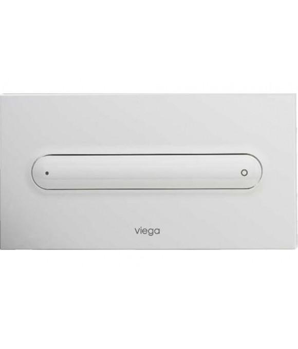 Инсталляционная кнопка альпийский белый прямоуг. Viega  [Visign for Style 11 / 8331.1]