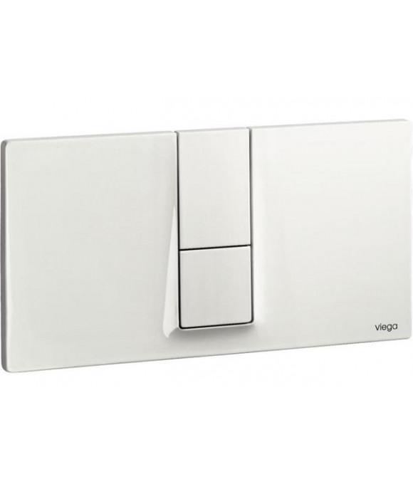 Инсталляционная кнопка альпийский белый прямоуг. Viega  [Visign for Style 14 / 8334.1]