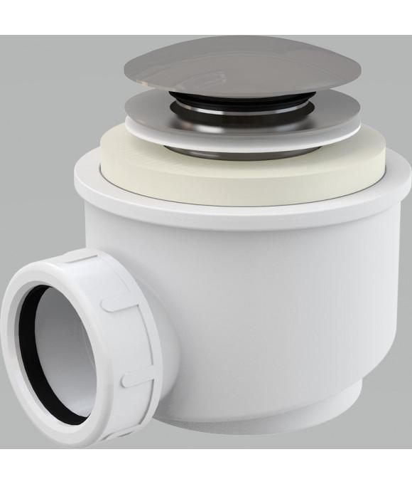 Сифон для  душ. поддона хромир. (Alca PLAST)  А47CR Ф50