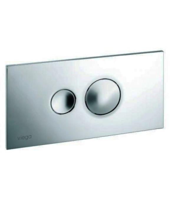 Инсталляционная кнопка хром. с двумя круглыми кнопками  Viega  [Visign for Style 10 / 8315.1]