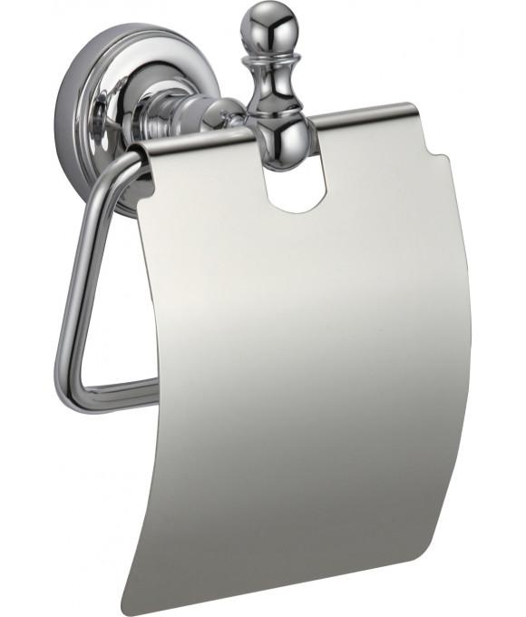 GZ 31030  Настенный держатель туалетной бумаги с крышкой