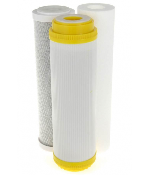 Набор картриджей для фильтра 3-ой LUX (вод. воды)   АКВАСТИЛЬ НАХ-3