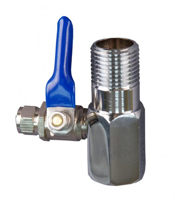 Краник для соединения фильтра (тройник) (60/2шт) ViEiR GL182
