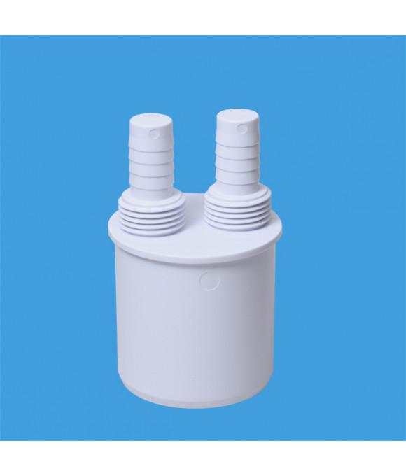 Адаптер для подключения слива с 2-я отводами вых.50 McALPINE WFH-CON50