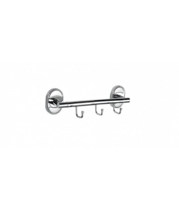 31016-3 П/держатель 3 крючка HANSEN (20/1шт)