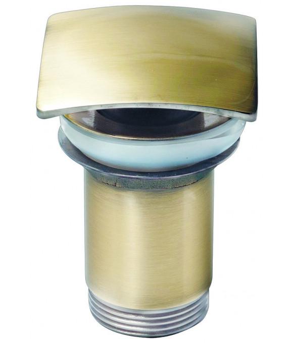 8033 Донный клапан KАISER автомат, квадрат Antique