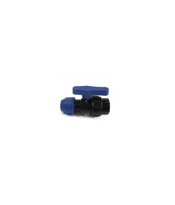 ПНД  Кран шаровой 25х1/2 вн.  РТП  (10шт)
