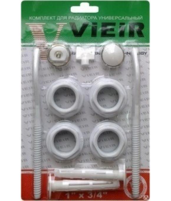 Набор  ДЛЯ  радиатора 3/4 с 2-я кронштейнами ViEiR (40/1шт) VR11B
