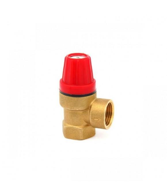 Предохранительный (взрывной) клапан 1/2 Г. х 1/2 Г.  6 bar.  ViEiR  (100/10шт) VRK33FF-6