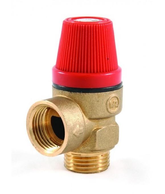 Предохранительный (взрывной) клапан 1/2Г х 1/2Ш  3 bar.  ViEiR VRK33FM-3