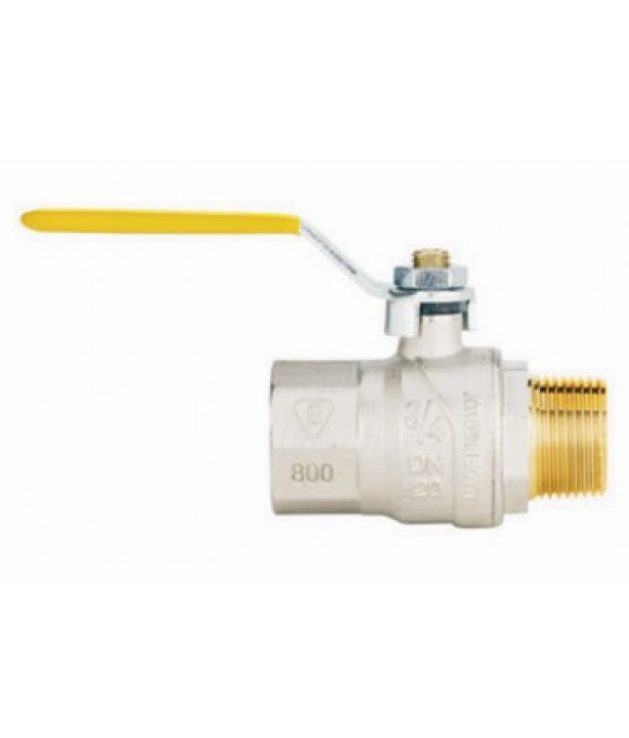 Кран  FIV шаровой для газа   1/2 г/ш Р-ка (Италия)
