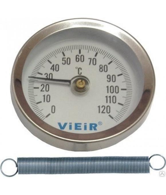 """Термометр накладной с пружиной (120""""С)  ViEiR (200шт) YL17"""