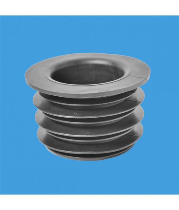 Переход резинов. ф75-50мм (манжета) McALPINE черный FLEXCONN-7550