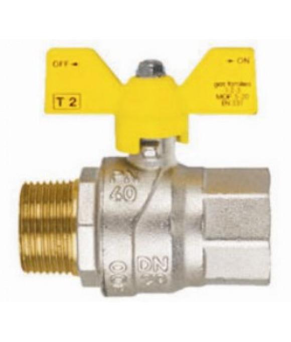 Кран  FIV шаровой для газа   3/4 г/ш Б-ка (Италия)