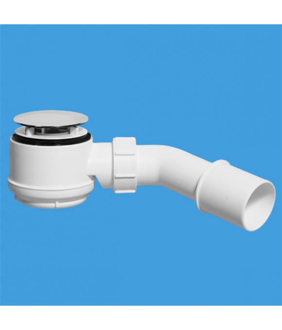 ТРАП для поддона (выпуск 70мм)  50/60-11/2, h=65мм, с трубкой 40/50 McALPINE MRS5C-SL-65