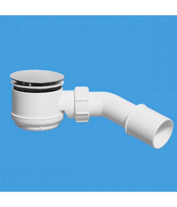ТРАП для поддона (выпуск 80мм)  50/75-11/2, h=65мм, с трубкой 40/50 McALPINE MRS6C-SL-65