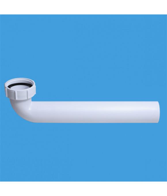 ТРУБА  Отводная 90* (внут.11/2-40мм) длина 250ммMcALPINE HC12-RU