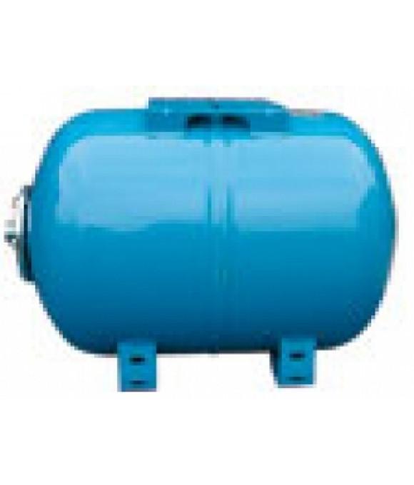 """Бак для водоснабжения  24л. 1"""" синий горизонтальный Wester (0-14-0950)"""