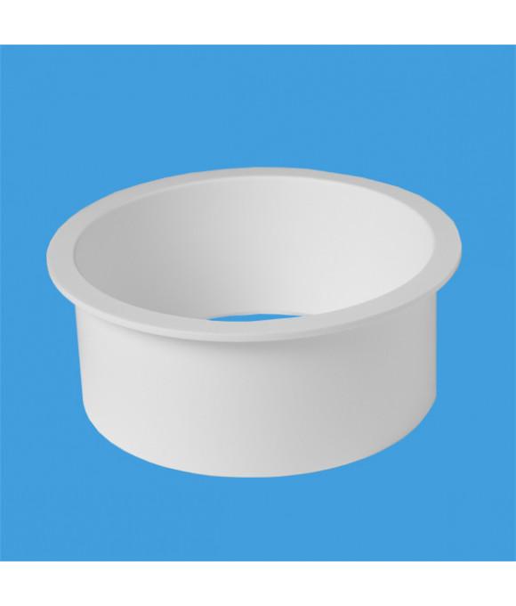 Фланец пластик. ф110  McALPINE P-P-VP127