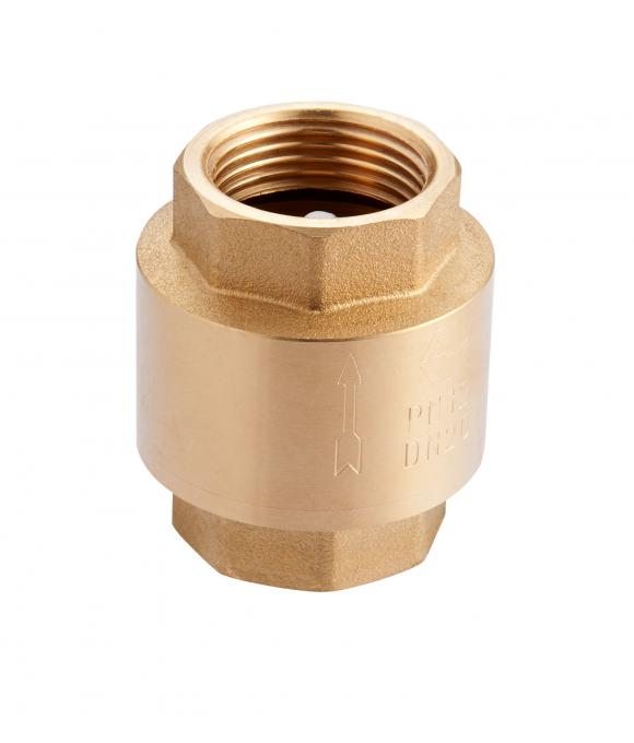 """CV.215.06 Обратный клапан с пластиковым сердечником 1"""""""