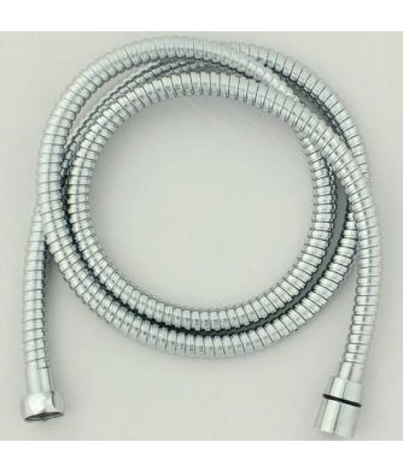 Шланг для душа имп./имп. хром. метал. с повор. гайкой 1,75м. (в блистере) EVRICA 24-175