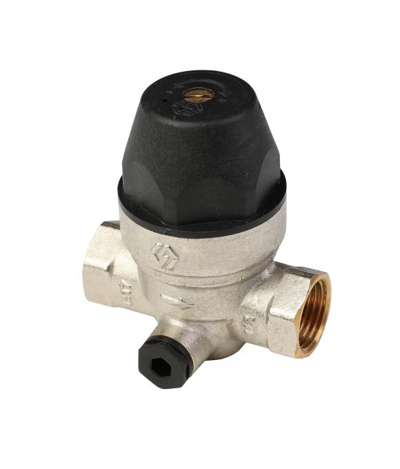 """SE.555.04 Регулятор давления для воды мембранный  1/2"""""""
