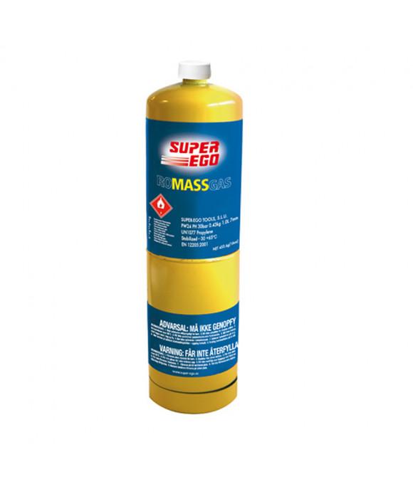 """Газовый баллончик ROMASSGAS, 1000мл MAPP газ  t до 2400°C US 1""""  SUPER EGO"""