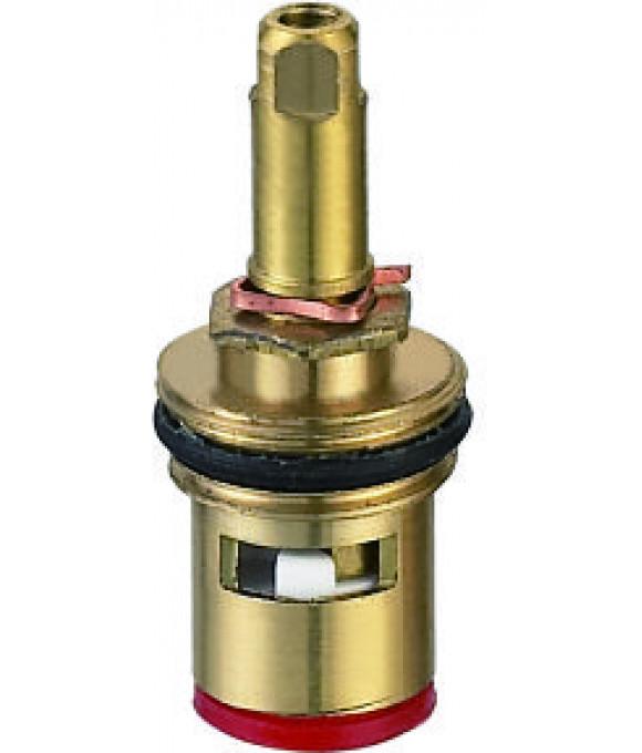 DK-340A  Кран букса с резьбой под юбку улучшенная под квадрат, люкс, 56 гр