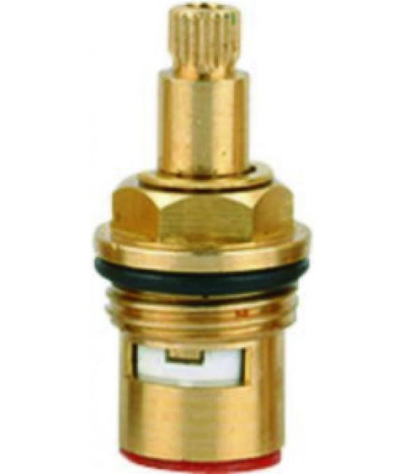 DK-343  Кран букса 1/2 керамика стандартная 24 шлица с 1 резьбой