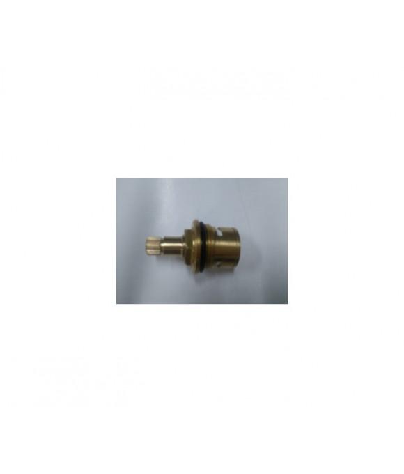 DK-352BB  Кран букса 1/2 керамикас 1 резьбой 52 грамм 20 шлицов с подшипником