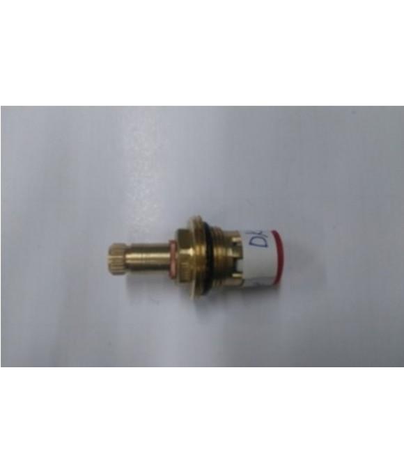 DK-363 3/8  Кран букса 3/8, 24 шлица с 2 резьбами
