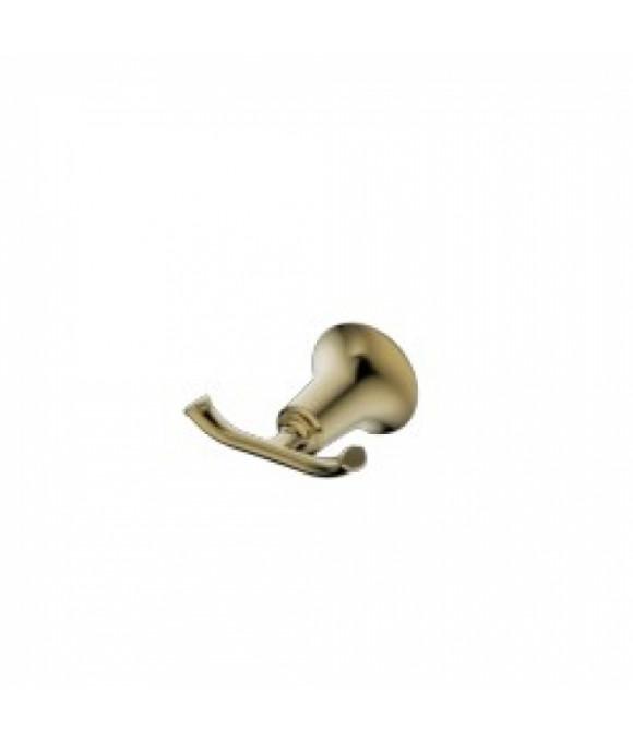 4002 Крючок двойной KAISER бронза (латунь)