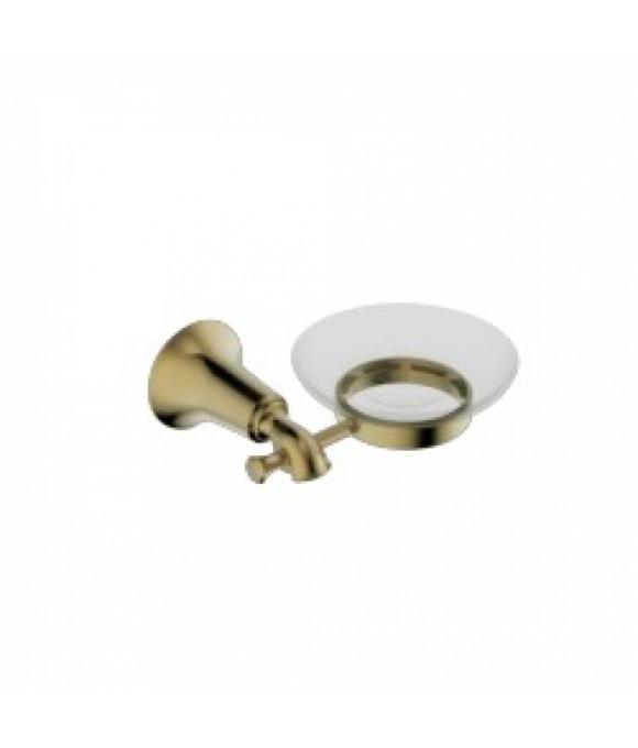 4003 Держатель мыльницы(стекло) KAISER бронза (латунь)