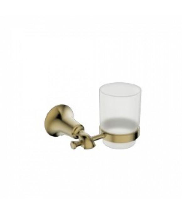 4005 Держатель стакана(стекло) KAISER бронза (латунь)