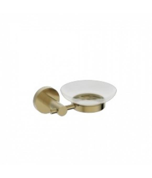 4103 Держатель мыльницы(стекло) KAISER бронза (латунь)