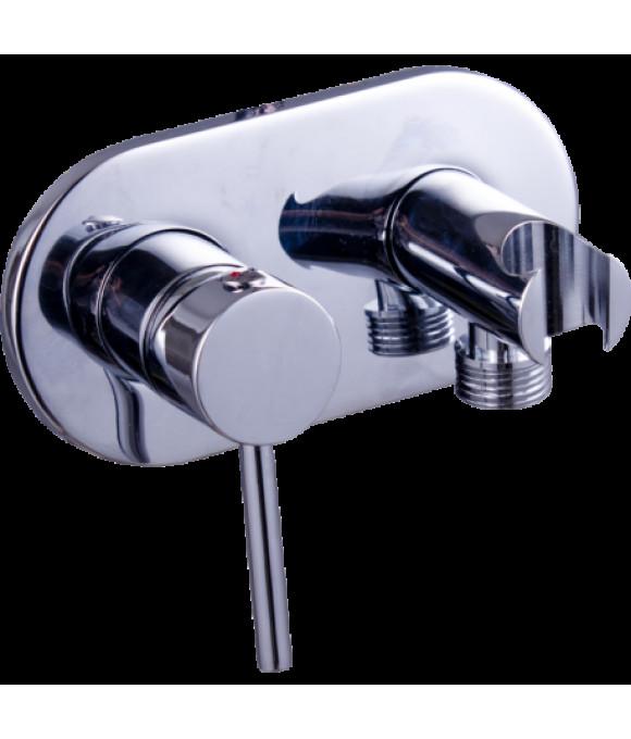 GZ 32101  Смеситель для биде с подключением для душевого шланга и держателем для душа